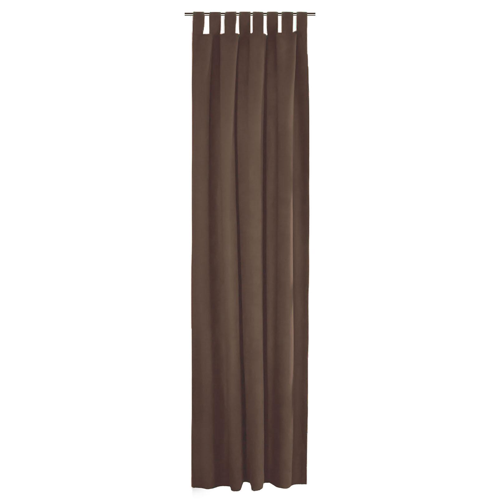thermo senschal kr uselband vorhang gardine blickdicht lichtdicht 140 300x245cm ebay. Black Bedroom Furniture Sets. Home Design Ideas