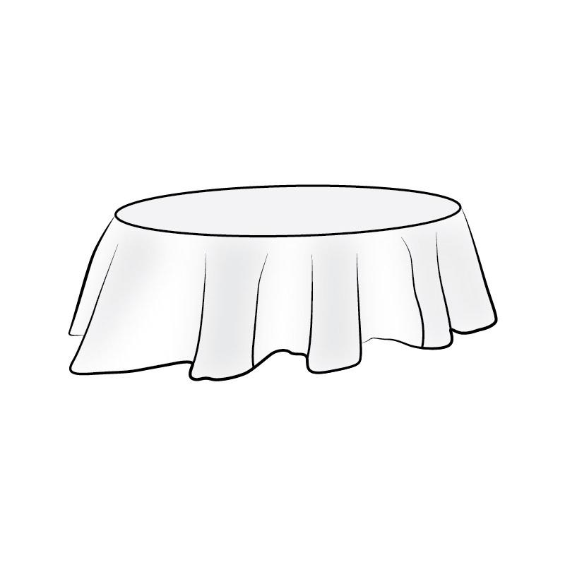 Tischdecken oval